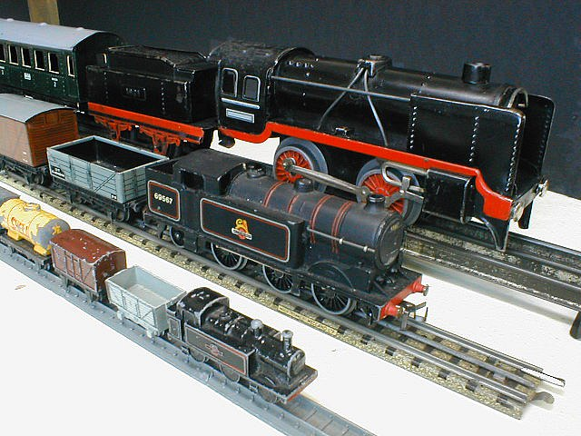 Oo model trains for sale